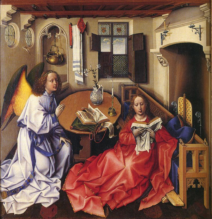 entering the annunciation