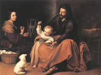Holy Family - Murillo