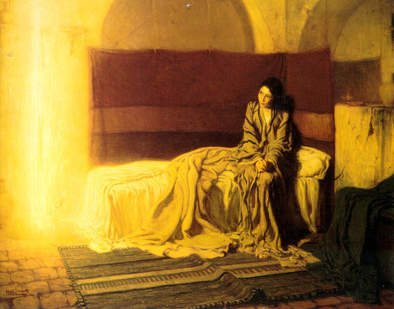 The Annunciation by Henry Ossawa Tanner   1898